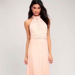 Lulu's brand bridesmaid formal dress